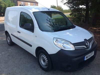 Renault Kangoo 1.5 ML19dCi 90 eco2 Van Panel Van Diesel WhiteRenault Kangoo 1.5 ML19dCi 90 eco2 Van Panel Van Diesel White at AMH Autos Ltd Selby
