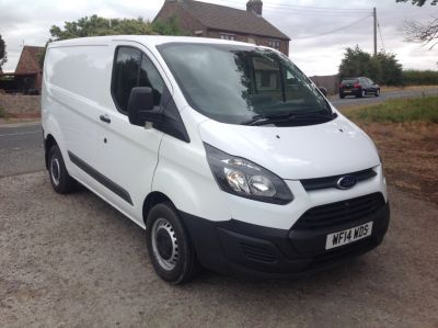 Ford Transit Custom 2.2 TDCi 100ps Low Roof Van Panel Van Diesel WhiteFord Transit Custom 2.2 TDCi 100ps Low Roof Van Panel Van Diesel White at AMH Autos Ltd Selby