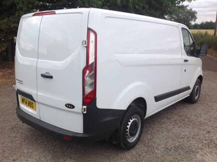 Ford Transit Custom 2.2 TDCi 100ps Low Roof Van Panel Van Diesel White